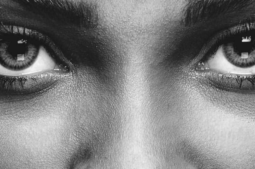 The Big, brown beautiful eyes